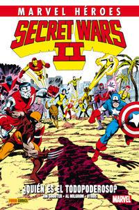 Cover Thumbnail for Marvel Héroes (Panini España, 2012 series) #53 - Secret Wars II: ¿Quién es el Todopoderoso?