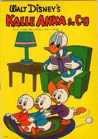 Cover Thumbnail for Kalle Anka & C:o (Hemmets Journal, 1957 series) #6/1960