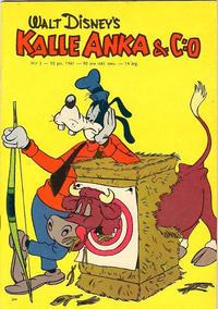 Cover Thumbnail for Kalle Anka & C:o (Hemmets Journal, 1957 series) #2/1961