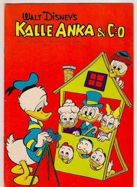 Cover Thumbnail for Kalle Anka & C:o (Hemmets Journal, 1957 series) #5/1961