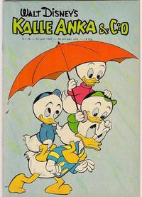 Cover Thumbnail for Kalle Anka & C:o (Hemmets Journal, 1957 series) #16/1961