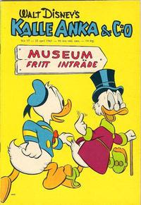 Cover Thumbnail for Kalle Anka & C:o (Hemmets Journal, 1957 series) #17/1961