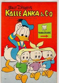 Cover Thumbnail for Kalle Anka & C:o (Hemmets Journal, 1957 series) #18/1961
