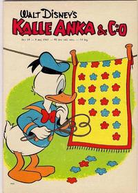 Cover Thumbnail for Kalle Anka & C:o (Hemmets Journal, 1957 series) #19/1961