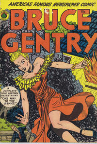 Cover Thumbnail for Bruce Gentry Comics (Superior, 1948 series) #3 [No Date on Cover]
