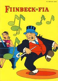 Cover Thumbnail for Fiinbeck og Fia (Hjemmet / Egmont, 1930 series) #1974