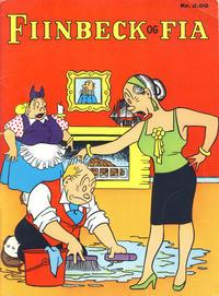 Cover Thumbnail for Fiinbeck og Fia (Hjemmet / Egmont, 1930 series) #1968