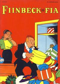 Cover Thumbnail for Fiinbeck og Fia (Hjemmet / Egmont, 1930 series) #1972