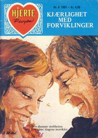 Cover Thumbnail for Hjerterevyen (Serieforlaget / Se-Bladene / Stabenfeldt, 1960 series) #8/1981