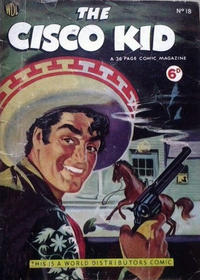 Cover for Cisco Kid (World Distributors, 1952 series) #18