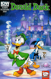 Cover Thumbnail for Donald Duck (IDW, 2015 series) #2 / 369 [1:25 Retailer Incentive Cover]