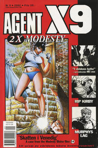Cover for Agent X9 (Egmont, 1997 series) #9/2002