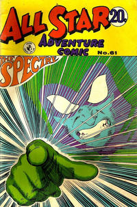 Cover Thumbnail for All Star Adventure Comic (K. G. Murray, 1959 series) #61