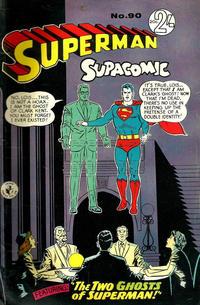 Cover Thumbnail for Superman Supacomic (K. G. Murray, 1959 series) #90