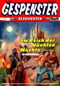 Cover Thumbnail for Gespenster Geschichten (Bastei Verlag, 1974 series) #208