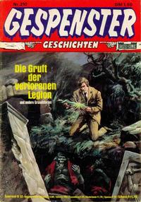 Cover Thumbnail for Gespenster Geschichten (Bastei Verlag, 1974 series) #210