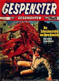 Cover Thumbnail for Gespenster Geschichten (Bastei Verlag, 1974 series) #237