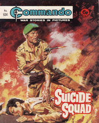 Cover Thumbnail for Commando (D.C. Thomson, 1961 series) #634