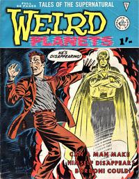 Cover Thumbnail for Weird Planets (Alan Class, 1962 series) #7