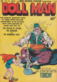 Cover Thumbnail for Doll Man (Bell Features, 1949 series) #26