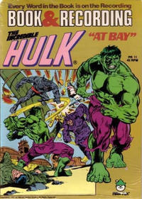 Cover Thumbnail for The Incredible Hulk at Bay! [Book and Record Set] (Peter Pan, 1974 series) #PR 11 [Book & Recording]