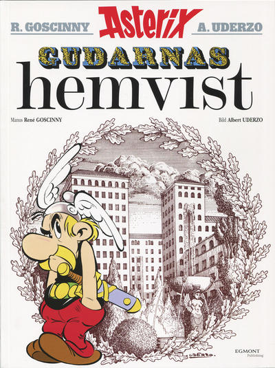 Cover for Asterix (Egmont, 1996 series) #17 - Gudarnas hemvist