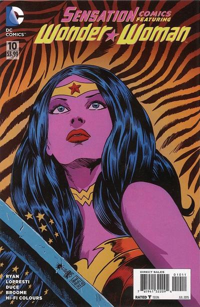 Cover for Sensation Comics Featuring Wonder Woman (DC, 2014 series) #10