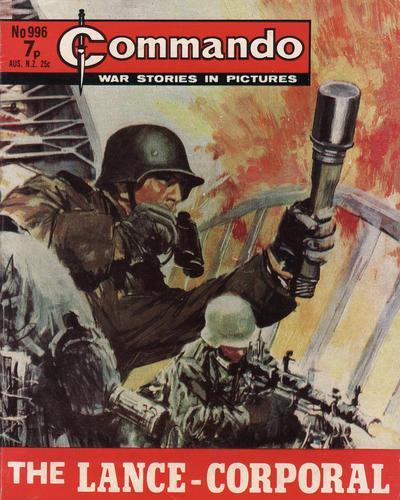 Cover for Commando (D.C. Thomson, 1961 series) #996