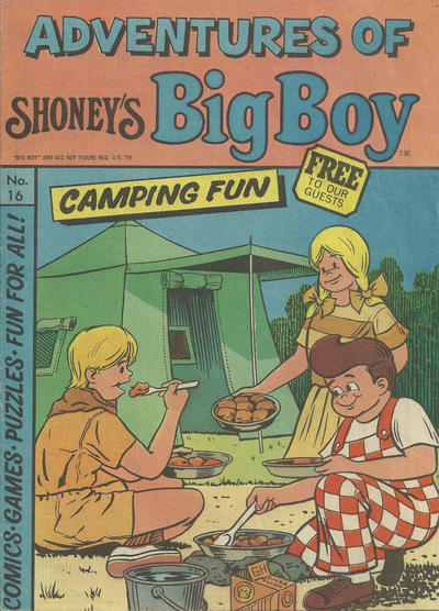 Cover for Adventures of Big Boy (Paragon Products, 1976 series) #16