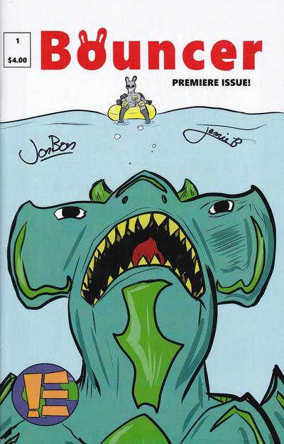Cover for Bouncer (Ensemble Comics, 2015 series) #1
