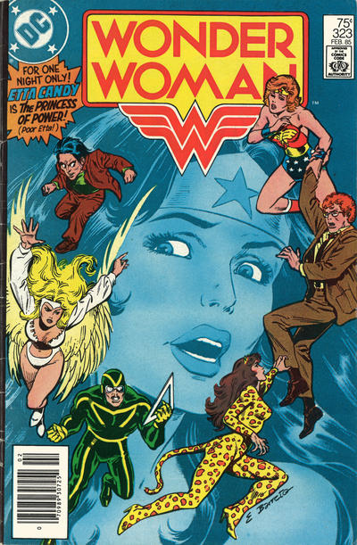 Cover for Wonder Woman (DC, 1942 series) #323