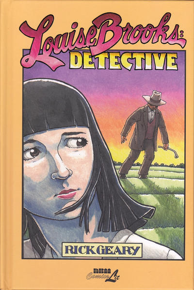 Cover for Louise Brooks: Detective (NBM, 2015 series)