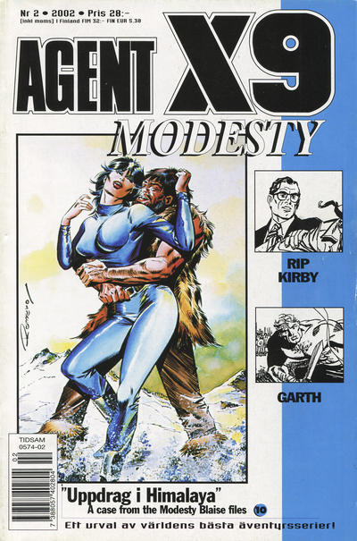 Cover for Agent X9 (Egmont, 1997 series) #2/2002