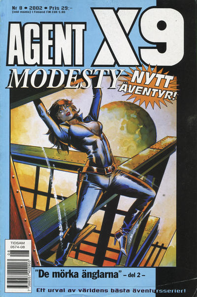 Cover for Agent X9 (Egmont, 1997 series) #8/2002