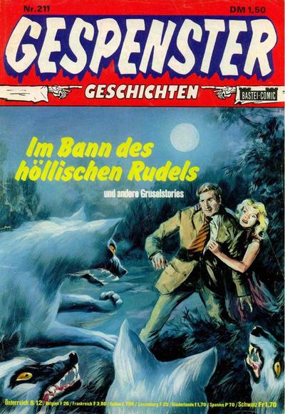 Cover for Gespenster Geschichten (Bastei Verlag, 1974 series) #211