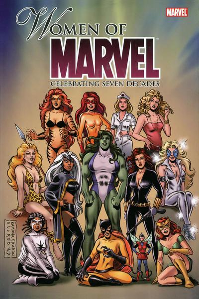 Cover for Women of Marvel: Celebrating Seven Decades Omnibus (Marvel, 2010 series)  [Olivier Coipel Cover]