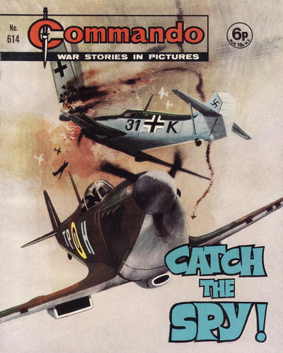 Cover for Commando (D.C. Thomson, 1961 series) #614