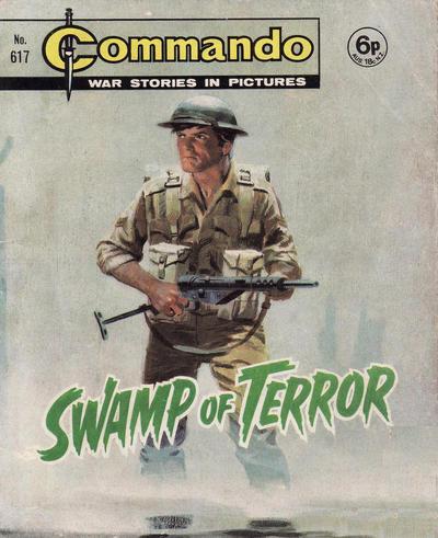 Cover for Commando (D.C. Thomson, 1961 series) #617