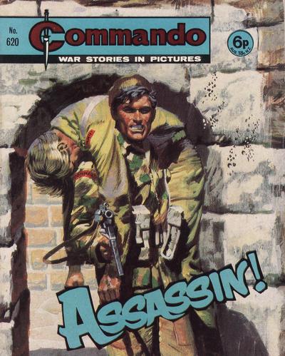 Cover for Commando (D.C. Thomson, 1961 series) #620