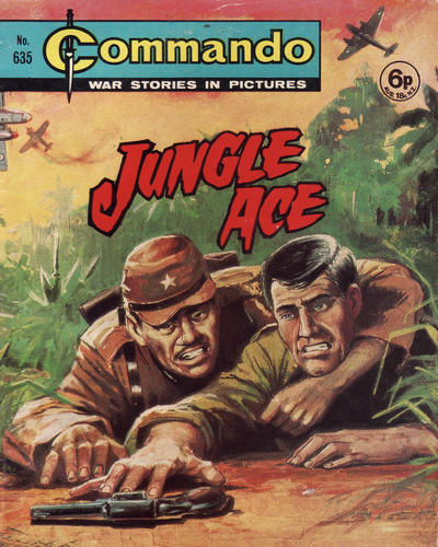 Cover for Commando (D.C. Thomson, 1961 series) #635