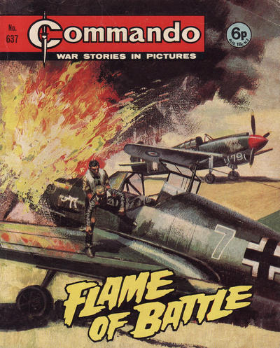 Cover for Commando (D.C. Thomson, 1961 series) #637