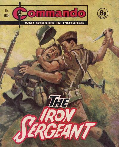 Cover for Commando (D.C. Thomson, 1961 series) #639