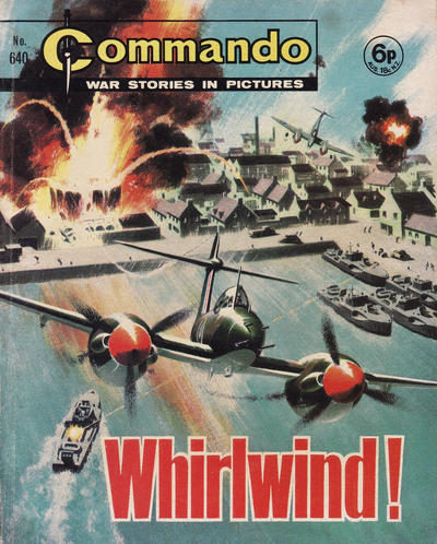 Cover for Commando (D.C. Thomson, 1961 series) #640