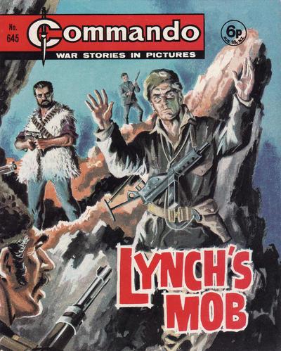 Cover for Commando (D.C. Thomson, 1961 series) #645