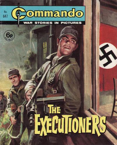 Cover for Commando (D.C. Thomson, 1961 series) #647