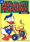 Cover for Almanacco Topolino (Arnoldo Mondadori Editore, 1957 series) #63