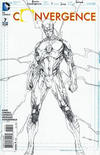 Cover for Convergence (DC, 2015 series) #7 [Brett Booth Flash Sketch Cover]