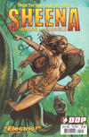 Cover for Sheena: Queen of the Jungle (Devil's Due Publishing, 2007 series) #5 [Cover A Fiona Staples]