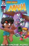 Cover for Small Bodied Ninja High School (Antarctic Press, 1992 series) #7