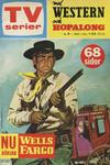 Cover for TV-serier [delas] (Åhlén & Åkerlunds, 1963 series) #8/1963